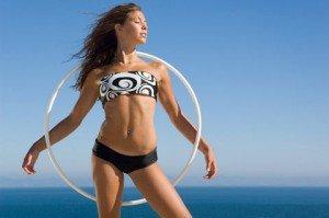 Как можно похудеть с помощью обруча?