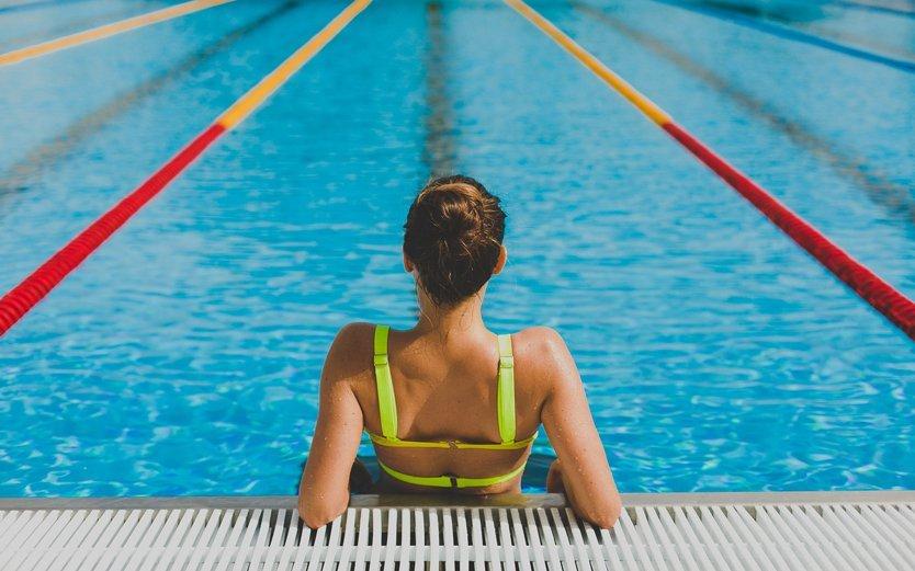Интервальная тренировка в бассейне