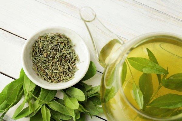 Зеленый чай в диете