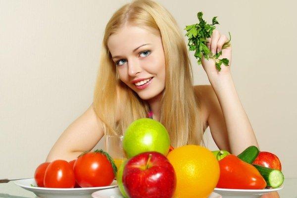 Быстрое снижение веса на Фруктово-овощной диете