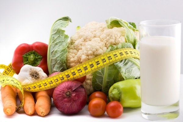 Овощи и сантиметр
